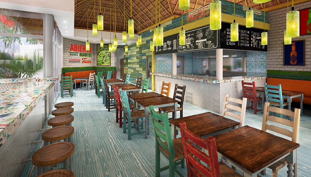 Rita's Taco House, Margaritaville Island Reserve Riviera Cancun