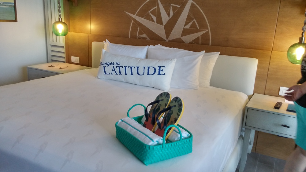 Our personal photo of Margaritaville Island Reserve room