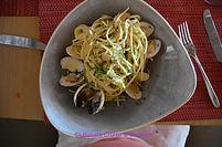 Seafood Pasta Dish @ Lorenzo's, Hyatt Ziva Cancun