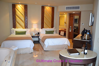 Deluxe Room with 2 double beds, Moon Palace Cancun