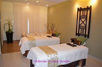 Couples spa room, El Dorado Seaside Suites