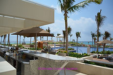 Club Level Pool Bar, Hyatt Ziva Cancun