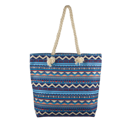 Zip Up Beach Bag