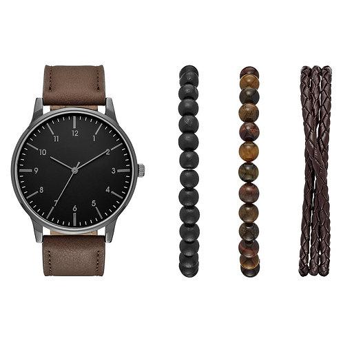 Men's Watch with Bracelet Accessories