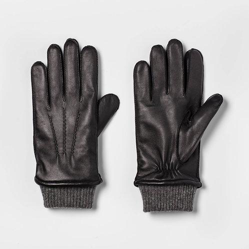 Men's Cashmere Leather Gloves