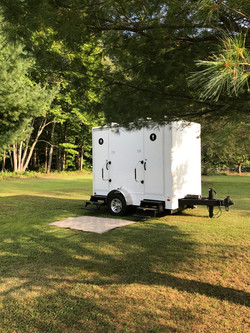 Two-Stall Restroom Trailer