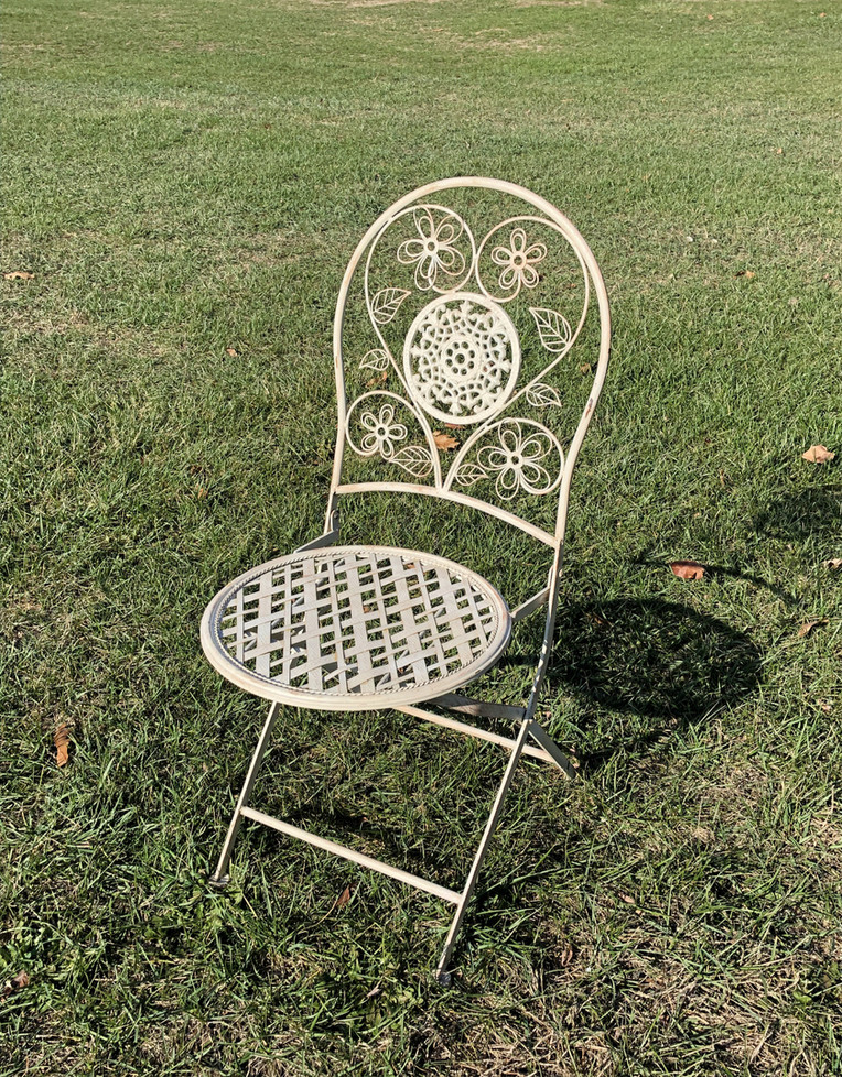 White Stella Chair