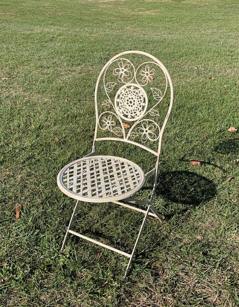 White Stella Chair
