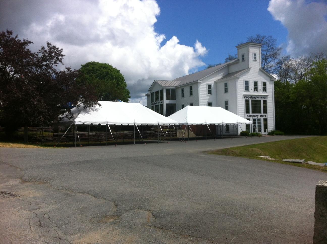 (2) 20X40 Pole Tents