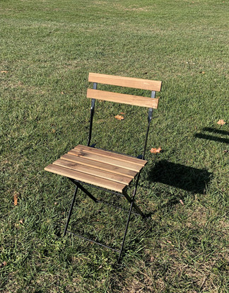 Slatted Bistro Chair