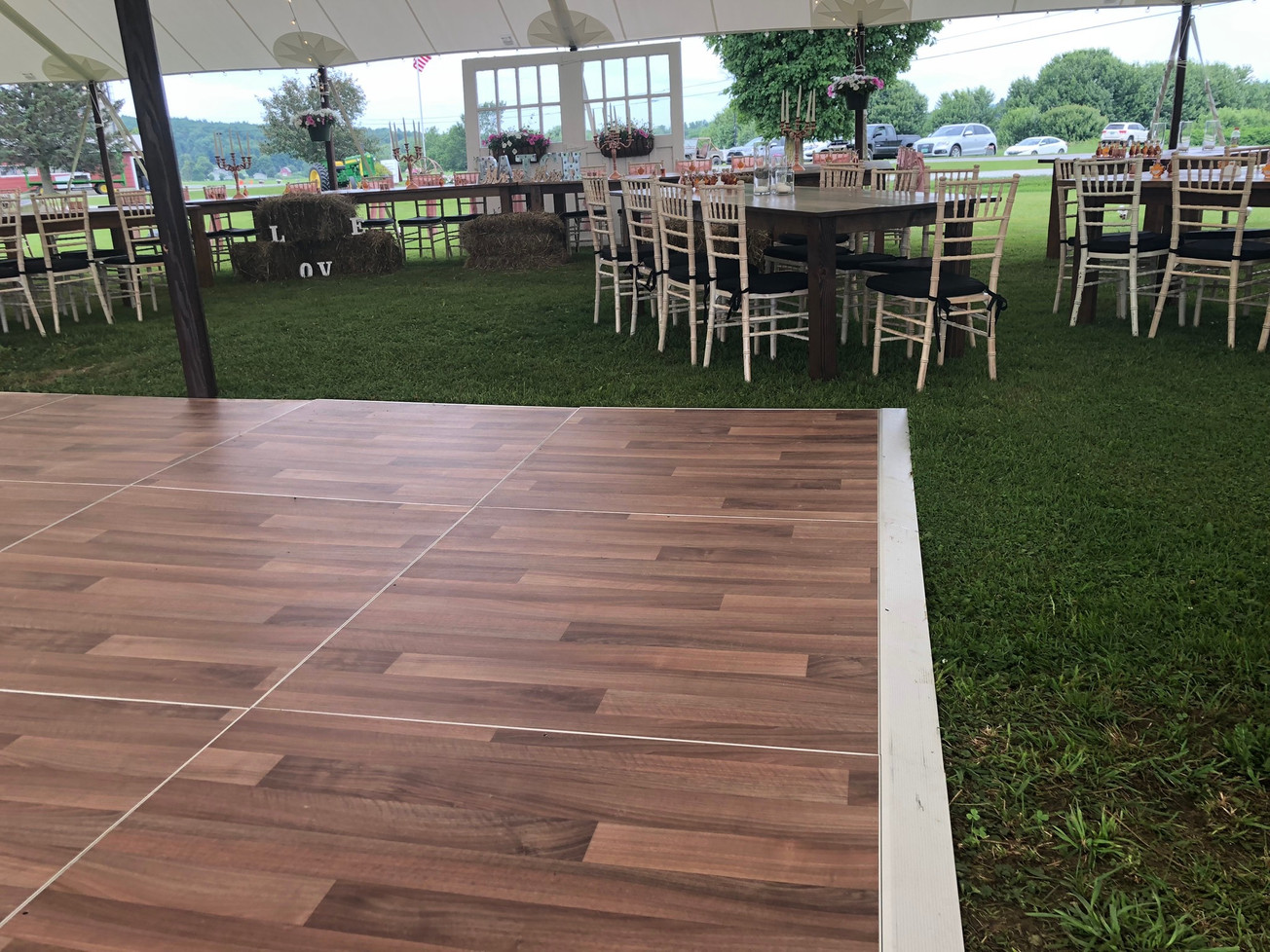 Dark Walnut Dance Floor