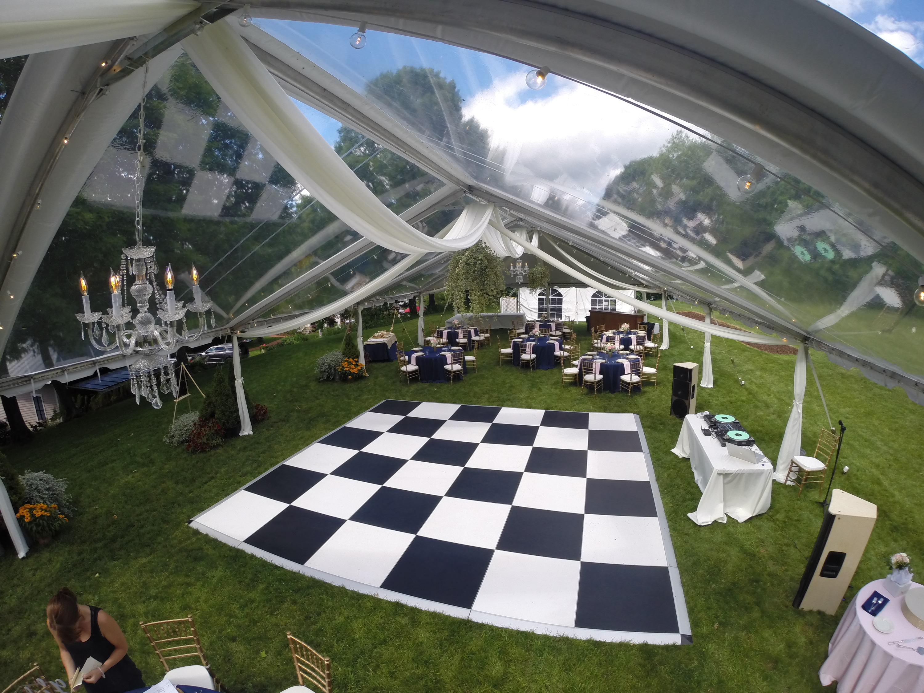 Clear Top Frame Tents Undercovertents