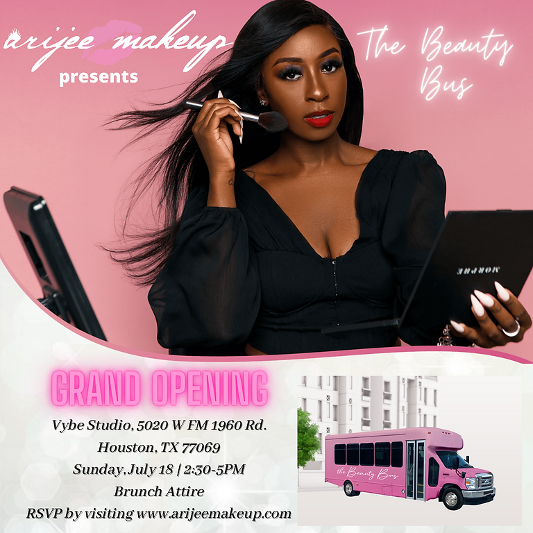 The Beauty Bus Grand Opening