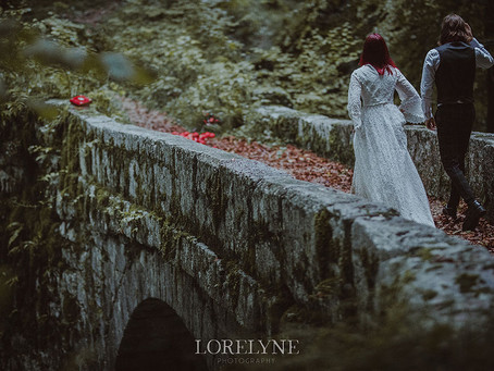 Shooting d'inspiration Blanche-Neige