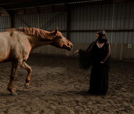 Robe Acane et étole Gypsy