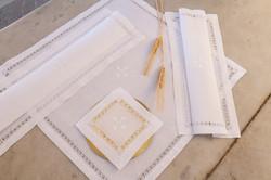 Mass Linen set hand embroidered