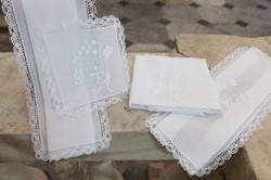 Altar linen 4pcs hand made