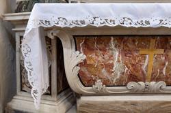 Custom made altar cloth for church