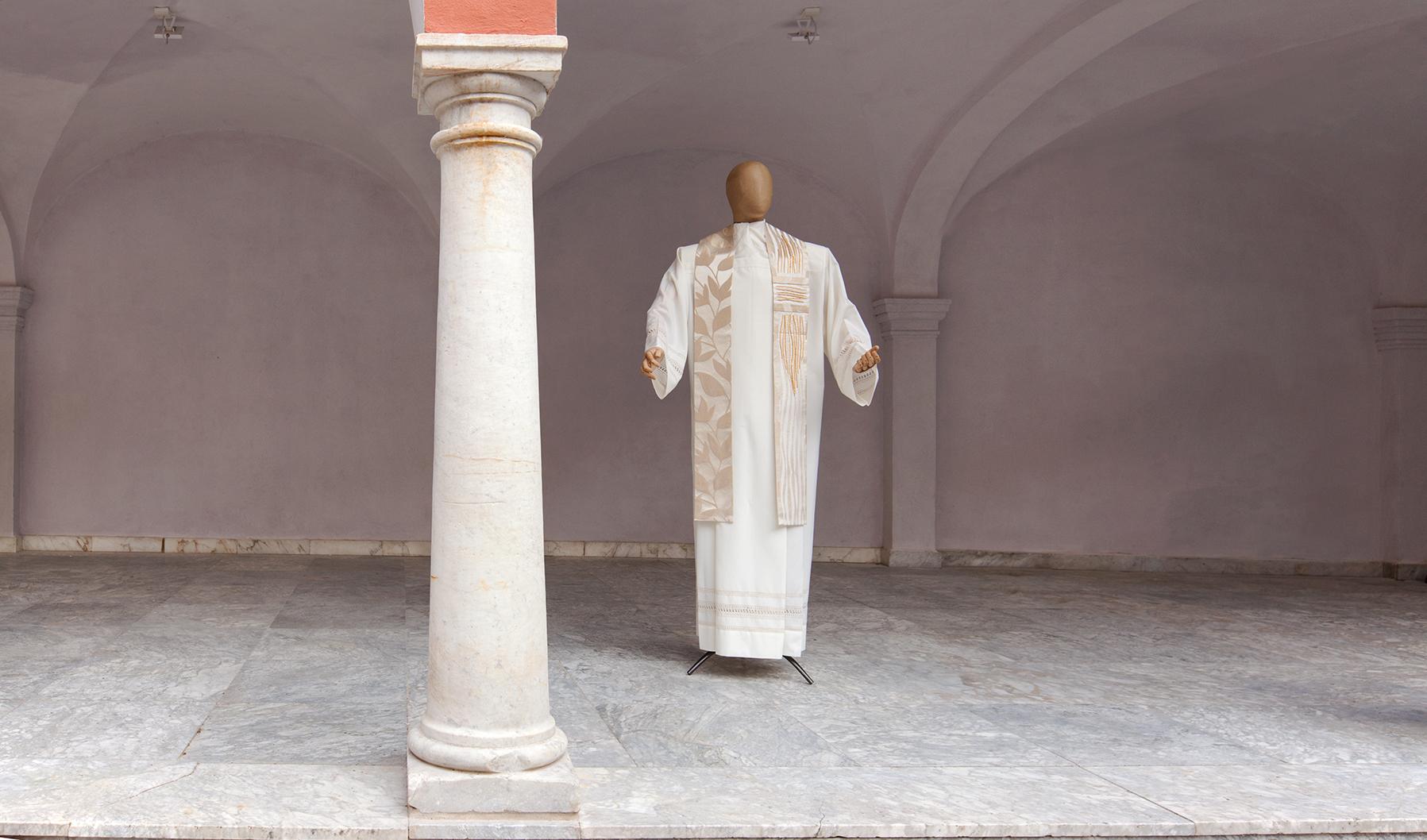 Stola per prete moderna in seta