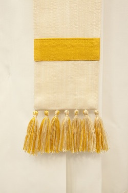 White stole with tassels for priest