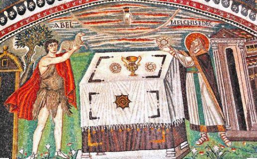 Sacrifici di Melchisedec e Abele - Chiesa di San Vitale - Ravenna
