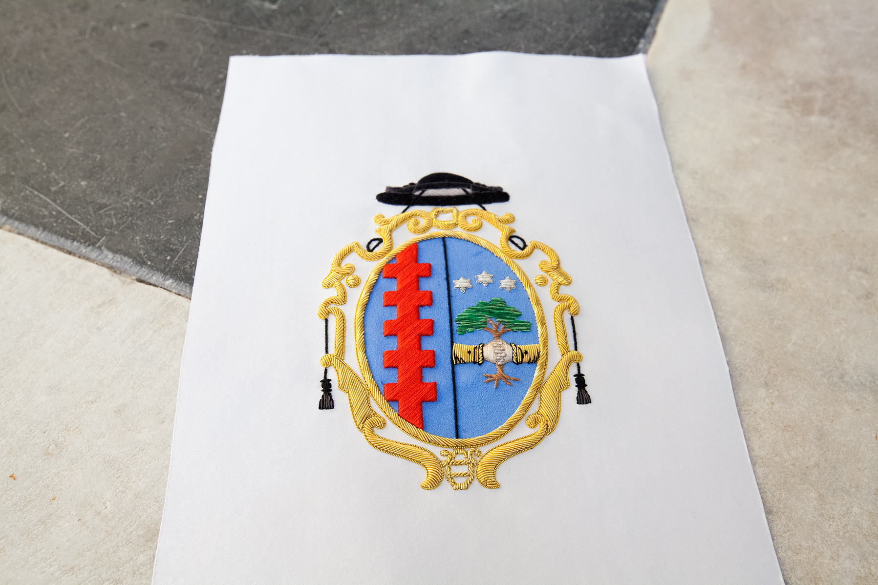 Customized Coat of arms of priest