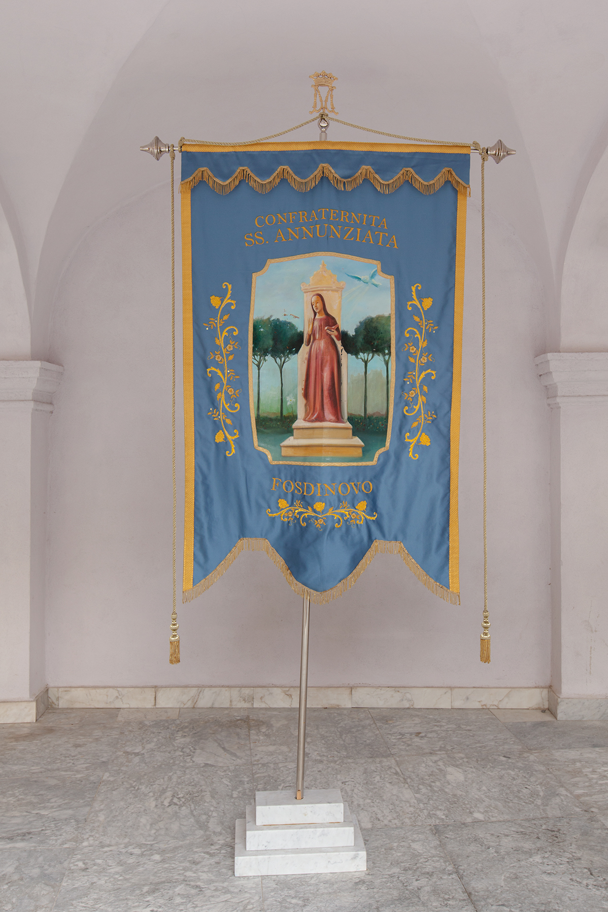 Banner of Fosdinovo's confraternity