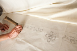 How do I start hand embroidery?