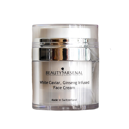 White Caviar, Ginseng Infused, Face Cream