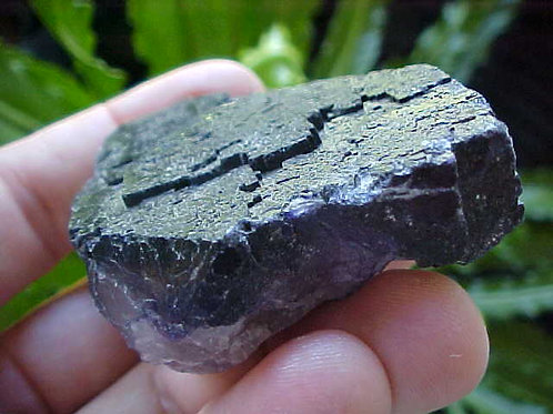 D0110 GemQz Purple Fluorite Mini Cluster Muzquiz Mexico