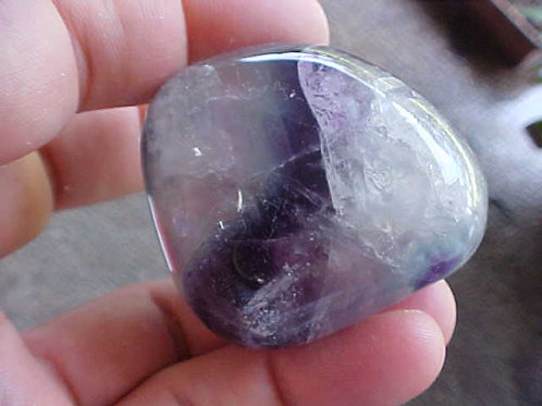 D0605 GemQz Rainbow Fluorite Hand Polished from CHINA !!!
