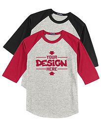 Sport-Tek YT200 Youth Raglan T-Shirt