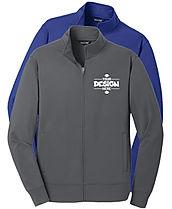 Sport-Tek ST241 Full Zip Performance Hoodie Sweatshirt