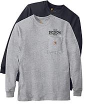 Carhartt ctk126 Pocket Longsleeve T-Shirt