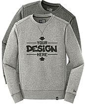 New Era NEA501 Crewneck Sweatshirts