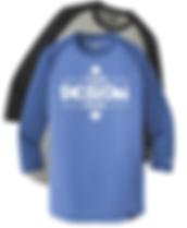 New Era NEA104 3/4 Sleeve Raglan T-Shirt