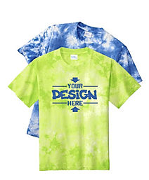 Port & Company PC145Y Youth Tie-Dye T-Shirts