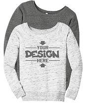 Bella & Company bc7501 Crewneck Sweatshirts