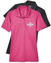 Ultra Club 8210L Women's Performance Polo Golf Shirt