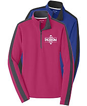 Sport-Tek LST861 Women's 1/4 Zip Performance Sweatshirt