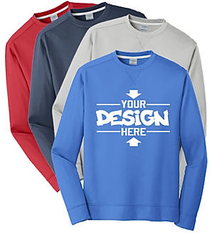 Port &Company pc590 Perfomance Crewneck Sweatshirt