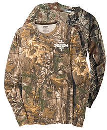 Russell Realtree s020r Camo Longsleeve T-Shirt
