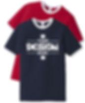 American Apparel 2410W USA Ringer Shortsleeve T-Shirt
