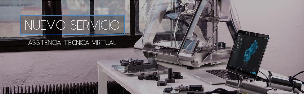 Servicio técnico impresoras 3D