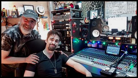 Trabajando en Sanger Studios