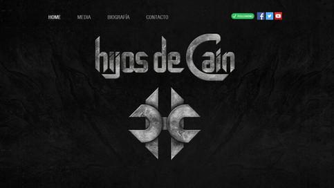 Nueva web de Hijos De Caín