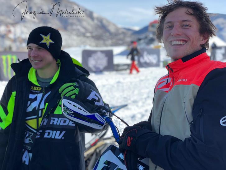 Cody & Brock making it look easy