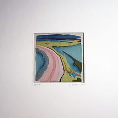 Fenit 4 - Fabric collage (sewn)