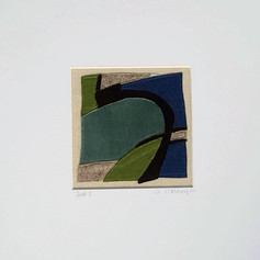 Fenit 2 - Fabric collage (sewn)