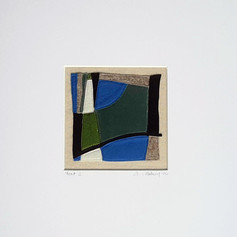 Fenit 1 - Fabric collage (sewn)